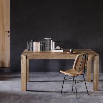 Slice Extendable Dining Table - Teak - Small