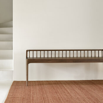 Spindle Bench - Walnut