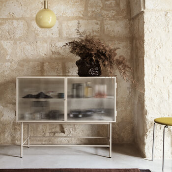 Haze Sideboard With Reeded Glass - Cashmere
