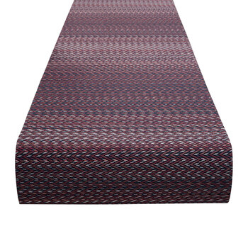 Quill Table Runner - Mulberry