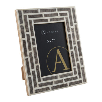Horn Tile Photo Frame - 5x7""