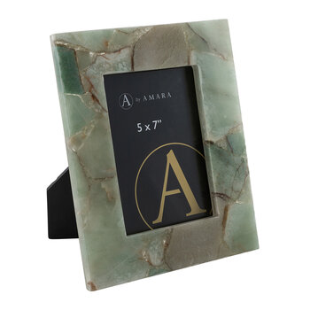 Natural Marble Photo Frame - 5x7""