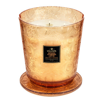 Japonica 5 Wick Hearth Candle - Spiced Pumpkin Latte