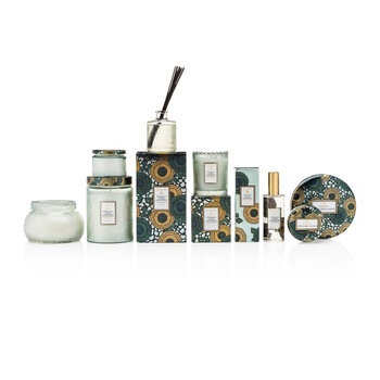 Scalloped-Edge Candle & Diffuser Gift Set - French Cade Lavender
