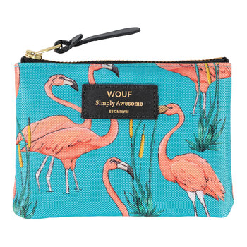 Pink Flamingo Coin Pouch