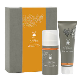 Shave Care Shaving Cream & Aftershave Balm Set - Buckthorn
