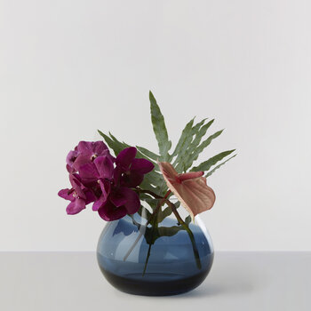 No 23 Flower Vase - Indigo Blue