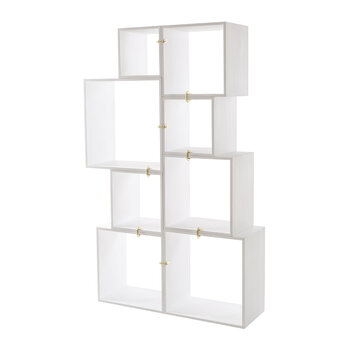 Assemblage 888 Lacquered Wooden Modules - White
