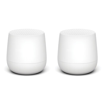Twin Mino+ Bluetooth Speaker Set - Matt White
