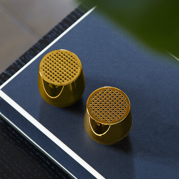 Twin Mino+ Bluetooth Speaker Set - Metallic Gold