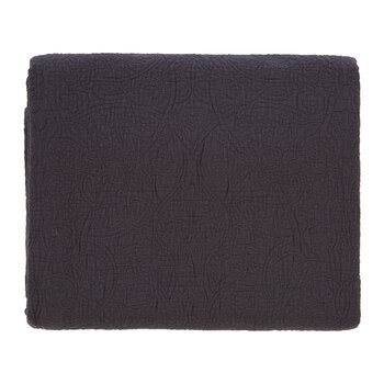 Bullerswood Quilted Throw - Charcoal