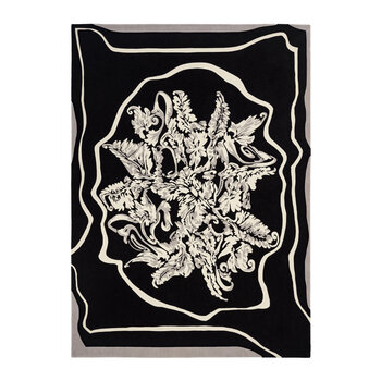 Bucolic Rug - Black/White