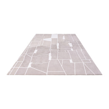 Scintilla Rug - Taupe/White
