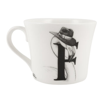 Mighty Mugs - F - Francis Flamingo