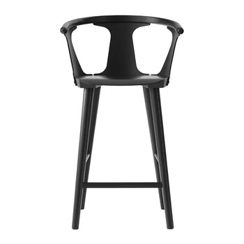 Counter Wooden Stool SK7 - Black