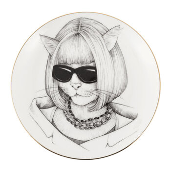 Perfect Plates - Cat with Suit