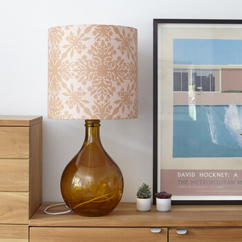 The Geyson Table Lamp - Amber