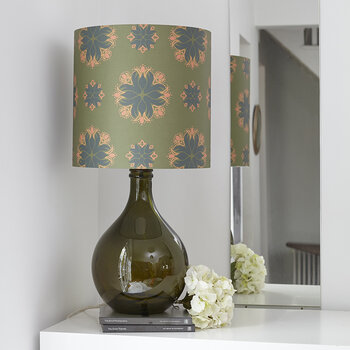 The Geyson Table Lamp - Green