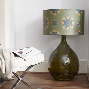 The Fitzpatrick Chunky Floor Lamp - Green