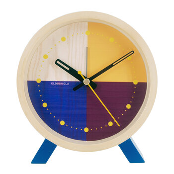 Flor Desk Clock - Blue