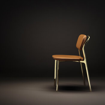 Coast Chair - Brown Leather