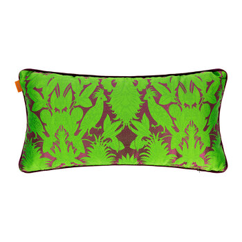 Krueger Pillow With Piping - 35x70cm - Green