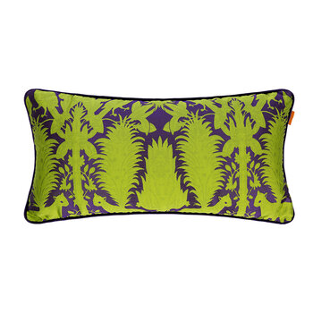 Krueger Pillow With Piping - 35x70cm - Lime Green