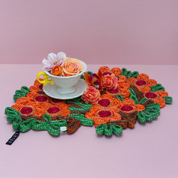 Florigraphie Table Mat - Camelia