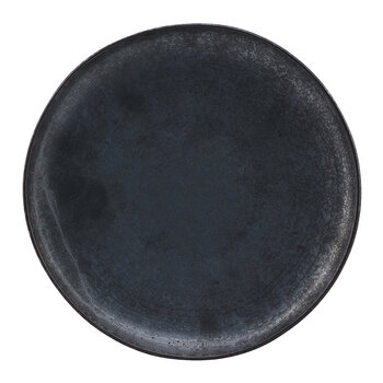 Pion Dinner Plate -  Set of 2 - Black/Brown