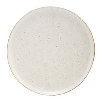 Pion Dinner Plate -  Set of 2 - Grey/White