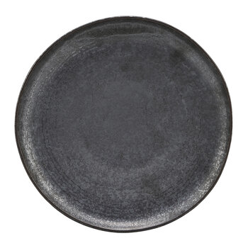Pion Lunch Plate - Set of 4 - Black/Brown