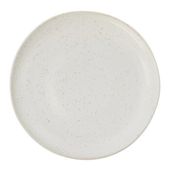 Pion Lunch Plate - Set of 4 - Grey/White