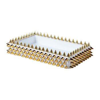 Spikes Tray - Gold