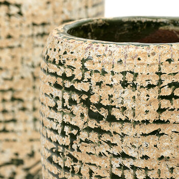 Reptile Pot - Medium - Green/Natural