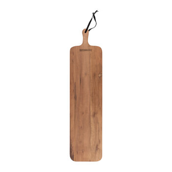 XL Slim Fit Solid Wood Bread Board - Walnut