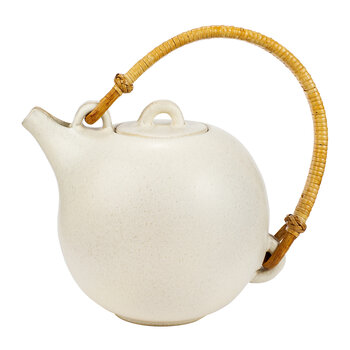 Teapot No. 63 - White