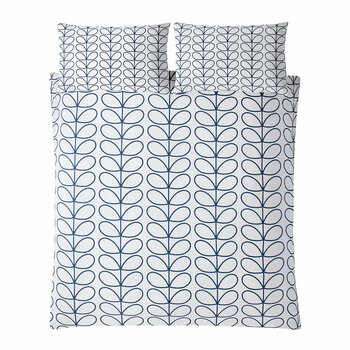 Linear Stem Quilt Cover - Whale