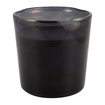 Black Spectrum Glass Scented Candle