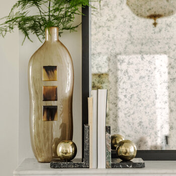 Gold Ball Bookend
