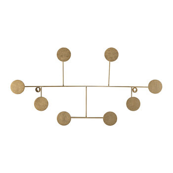 Fia Brass Coat Rack