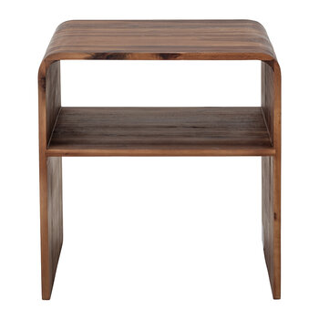Hassel Side Table - Brown