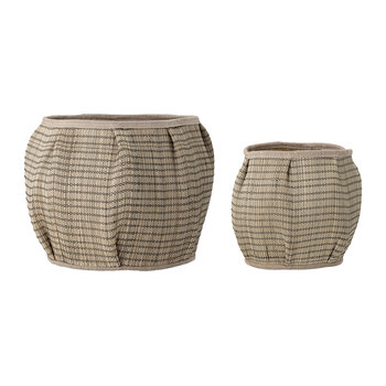 Seagrass Baskets - Set of 2 - Natural