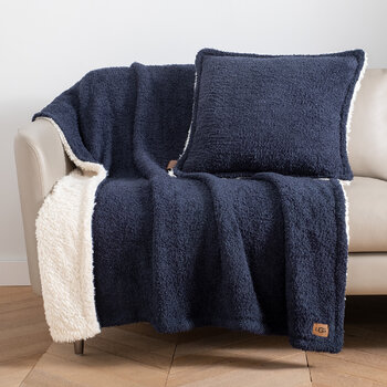 Ana Pillow 50x50cm - Navy