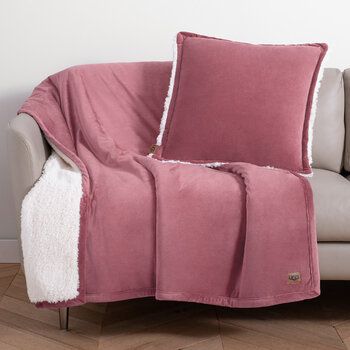 Bliss Cushion 50x50cm - Dusky Rose