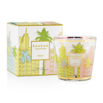 My First Baobab Scented Candle - Miami