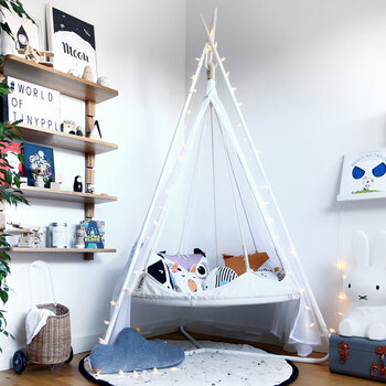 Kids Tiipii Bed - Natural White - Small