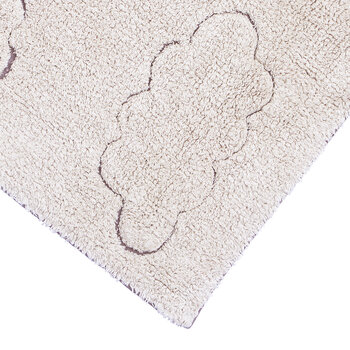 Clouds RugCycled Washable Rug - Grey