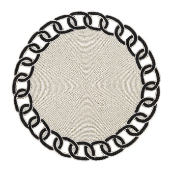 Beaded Link Placemat - Set of 2
