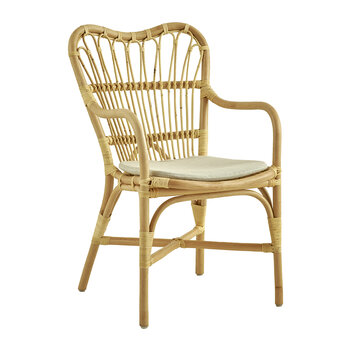 Margret Rattan Dining Chair - Natural