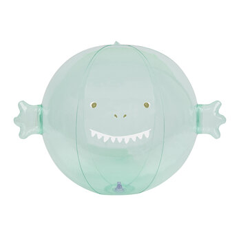 Inflatable Surfing Dino Buddy Ball - Ice Mint